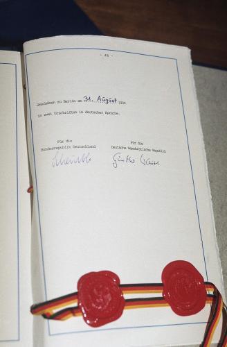 Smlouva o sjednocení Německa