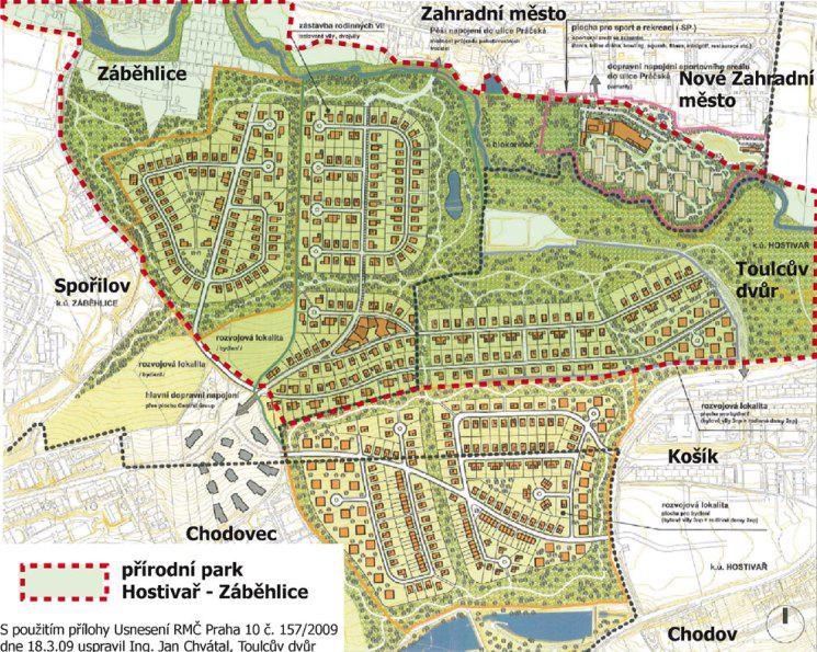 Trojmezí- změny územního plánu