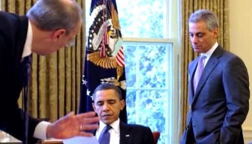 Barack Obama a Rahm Emanuel