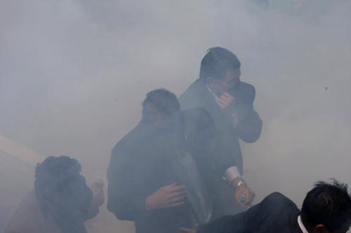 Nepokoje v Ekvádoru