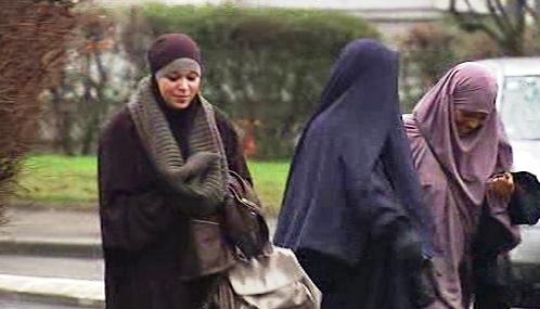 Zahalené muslimky