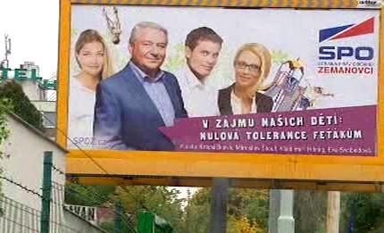 Kontroverzní billboard SPOZ