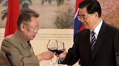 Kim Čong-il má rád červené víno