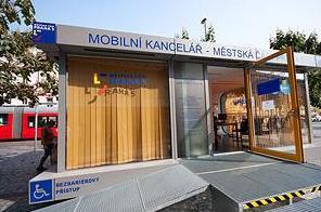 Mobilní kancelář Prahy 5