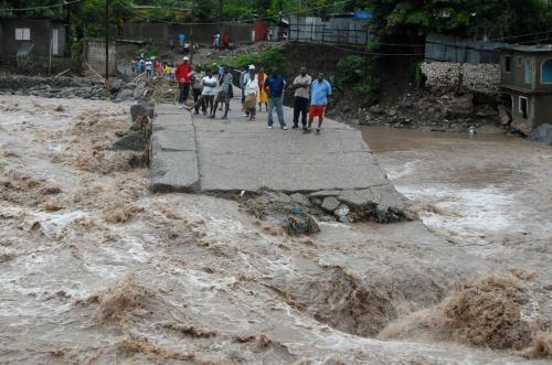 Následky tropické bouře Nicole na Jamajce