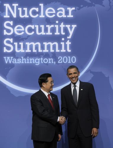 Barack Obama a Chu-ťin Tchao