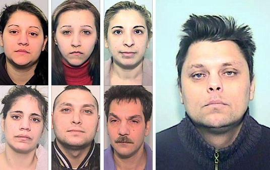Skupina odsouzených sňatkových podvodníků a její šéf