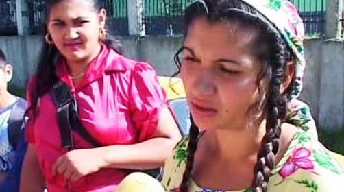 Romské dívky