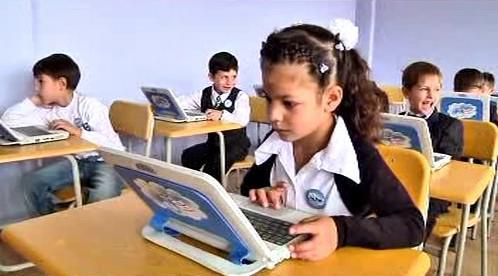 Moderní výuka v gruzínských školách