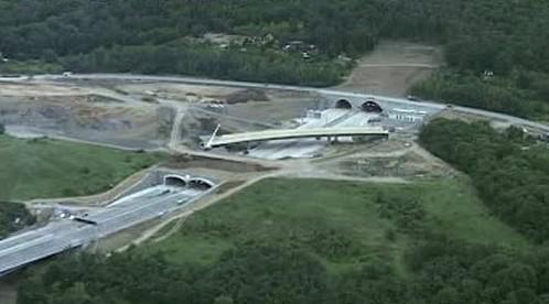 Most u Komořan