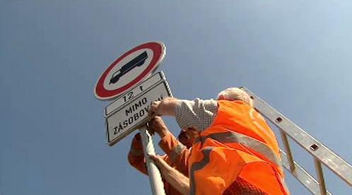 Zákaz vjezdu pro vozidla nad 12t