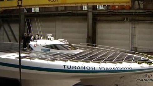 Největší solární loď na světě