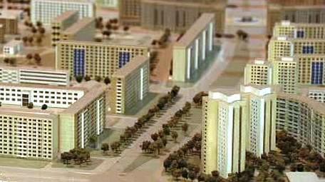 Model města v Německu