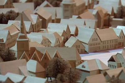 Výstava modelů měst