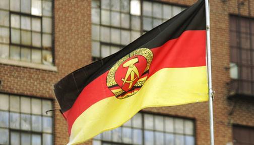 Východoněmecká vlajka