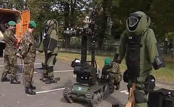 Oslavy 75. výročí vojenského školství v Moravské Třebové