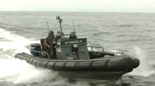 Policie na moři