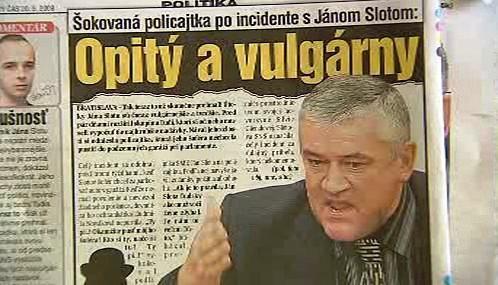 Vulgární výroky Jána Sloty
