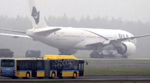 Letadlo nouzově přistává ve Švédsku