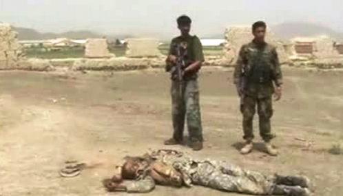 Obeť bojů v Afghánistánu