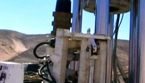 Hloubení tunelu k zasypaným chilským horníkům