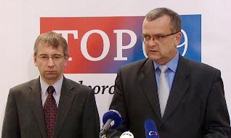 Jaromír Drábek a Miroslav kalousek