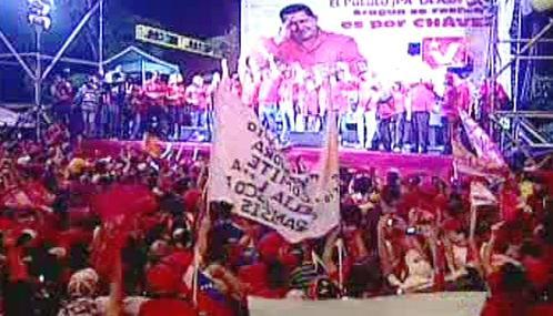 Předvolební kampaň ve Venezuele