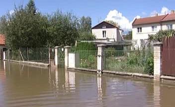 Povodeň ve Veselí nad Lužnicí