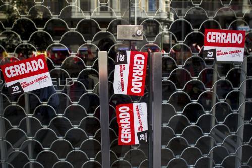 Stávka se Španělsku