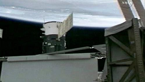 Spojení Sojuzu TMA-13 s ISS
