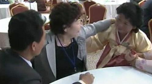 Setkání korejských rodin po 50 letech