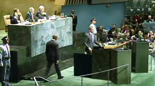 Barack Obama před Valným shromážděním OSN