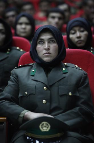 Afghánská vojačka