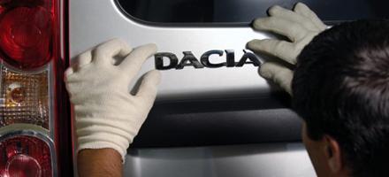 Rumunská továrna Dacia/Renault