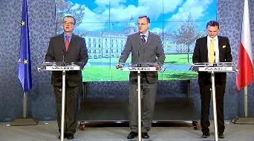 Tisková konference po schválení rozpočtu na rok 2011