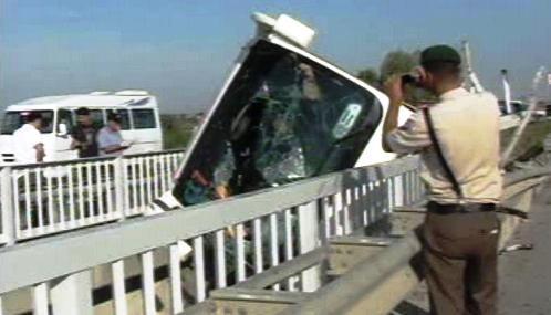 Havárie autobusu s českými turisty v Turecku