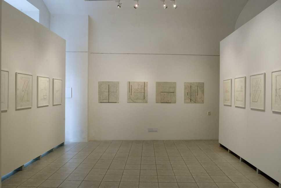 Stanislav Kolíbal / Kresby v ploše a prostoru