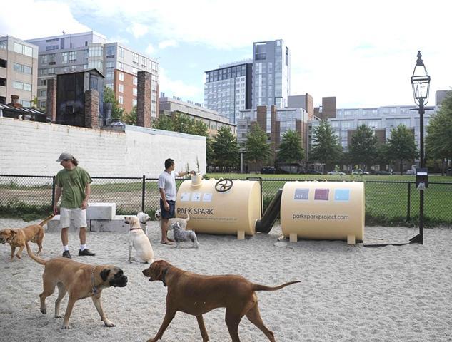 Recyklátor psích výkalů Park Spark