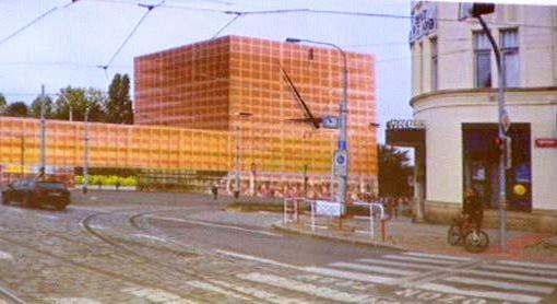 Vizualizace nové stavby na Palmovce
