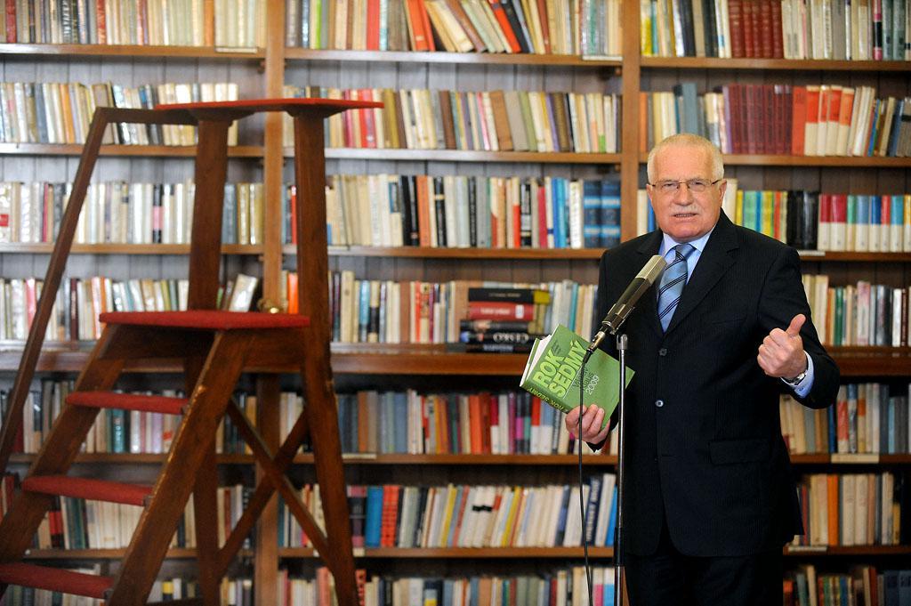 Václav Klaus představuje Rok sedmý