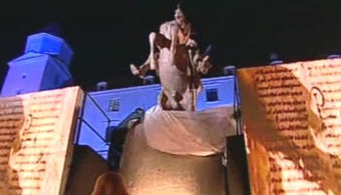 Slavnostní odhalení sochy knížete Svatopluka v Bratislavě