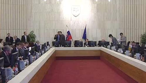 Jednání slovenské vlády