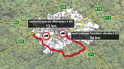 Nová trasa pro nákladní dopravu