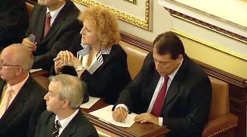 Jiří Paroubek s Vlastou Parkanovou