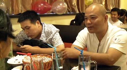Mladí Číňané v rychloseznamce