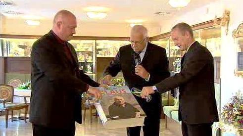 Křest knihy Václava Klause