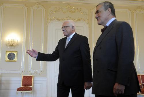 Václav Klaus a Karel Schwarzenberg