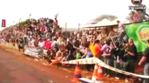 Zřícení tribuny v Quatro Pontes