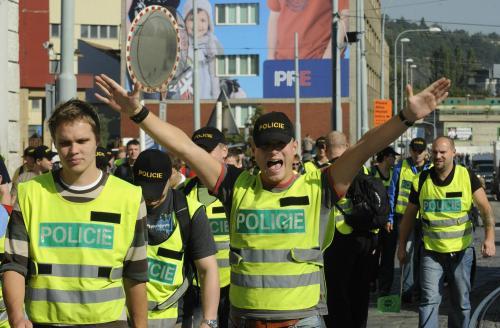 Odbory pochodují k ministerstvu vnitra
