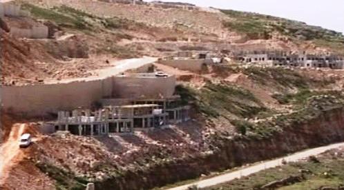 Výstavba v židovských osadách